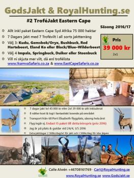 Jaktresa Afrika