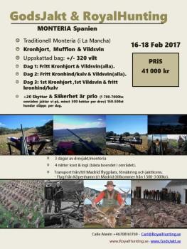 MONTERIA - Feb SV 16-18 feb 2018