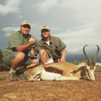 Tryck För film när Viktor Philpson jagar Springbok i Eastern Cape