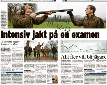 Artikel om ta jägarexamen www.Atl.nu Dec 2013