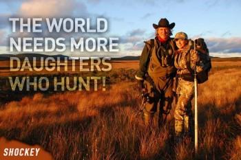 Behöver fler tjejer som jagar