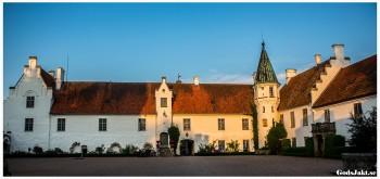 Bosjökloster Slott innergård