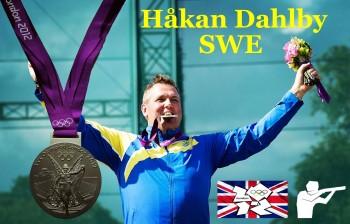 Jägarexamen Stockholm med Håkan Dahlby somm vunnit ett OS-Silver till Sverige