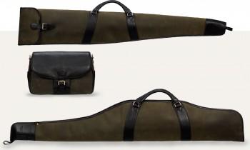 Baron väskor grön mocka
