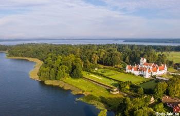 Jägarexamen Malmö vackra Bosjökloster mitt i Skåne varje vecka med GodsJakt
