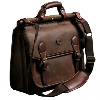 country briefcase brown suede 2
