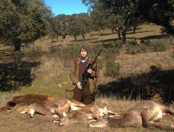 Jonas Werner på drevjakt i Spanien skjutit kron & dov
